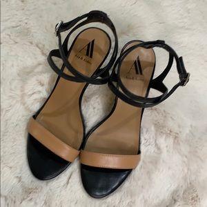 Ava & Aiden Etta Two-Piece High Heel Sandal